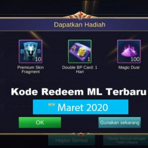 Kode Redeem ML Maret 2020