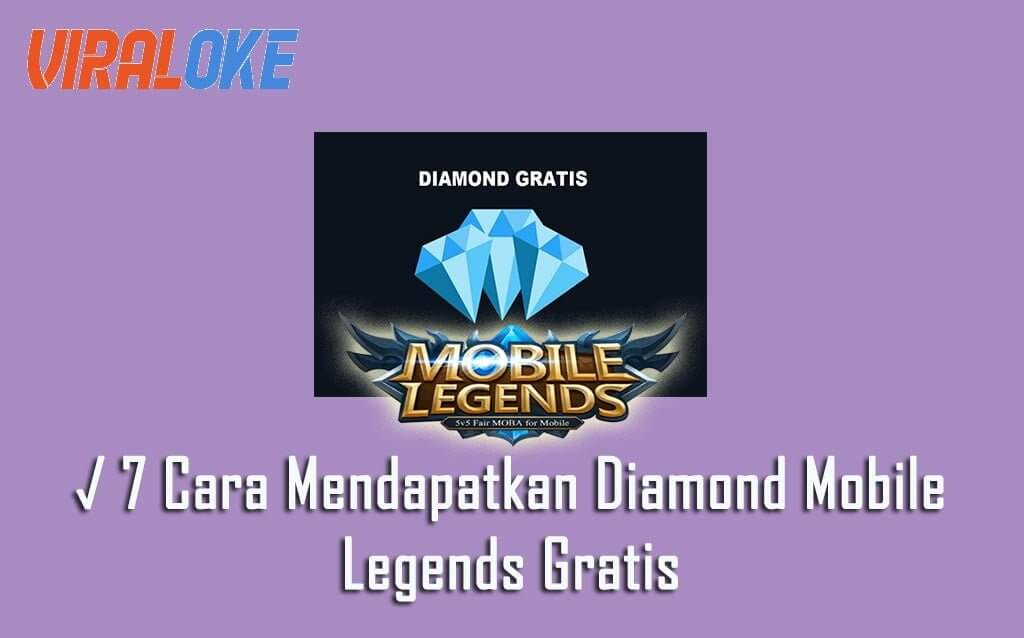 7 Cara Mendapatkan Diamond Mobile Legends Gratis