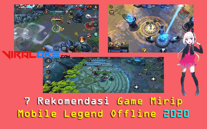 game mobile legends offline