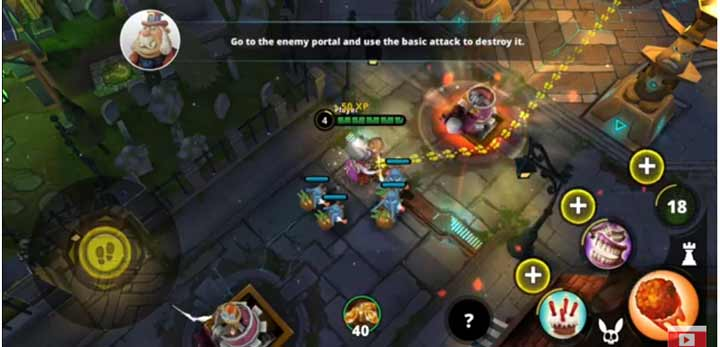 Game Mirip Mobile Legend Offline Awakening of Heroes: MOBA 5v5