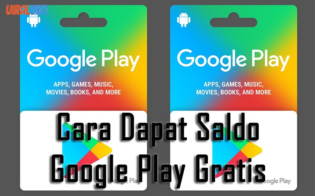 Cara Dapat Saldo Google Play Gratis