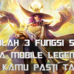 Ini dia fungsi dari menggunakan skin di mobile legends.