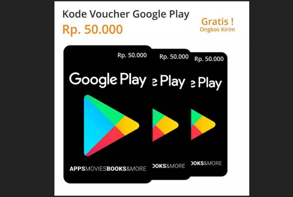 Harga Voucher Google Play 2020 Termurah