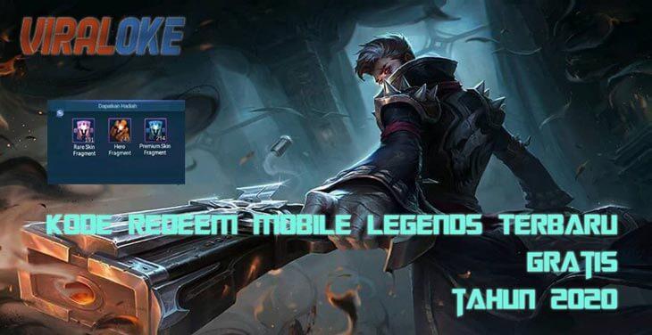 Kode Redeem Mobile Legends Terbaru