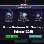 Kode Redeem ML Februari 2020 Terbaru Worked!