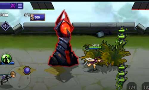 Game Mirip Mobile Legend Offline Naruto Senki Mod ML