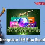 Cara Mendapatkan THR Pulsa Ramadhan FF 2020