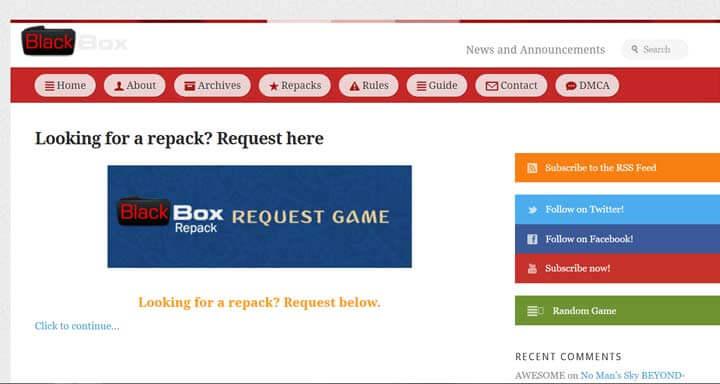 Blackbox Repack