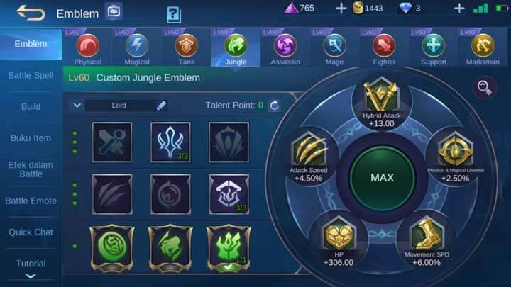 Emblem Jungle Max