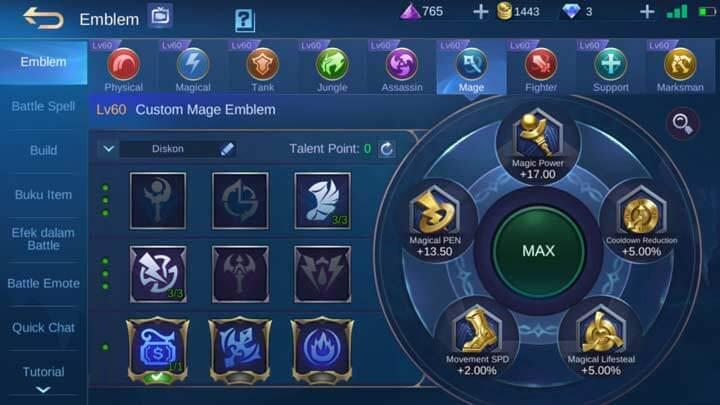Emblem Mage Max