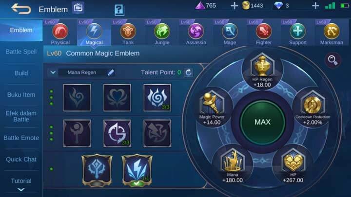 Emblem Magical Max
