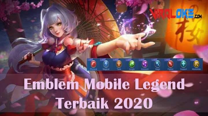 Emblem Mobile Legend Terbaik