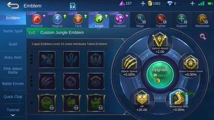 Emblem yang terlupakan di ML