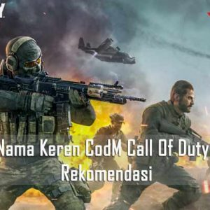 Nama Keren CodM Call Of Duty Mobile