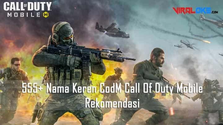 Nama Keren CodM Call Of Duty Mobile