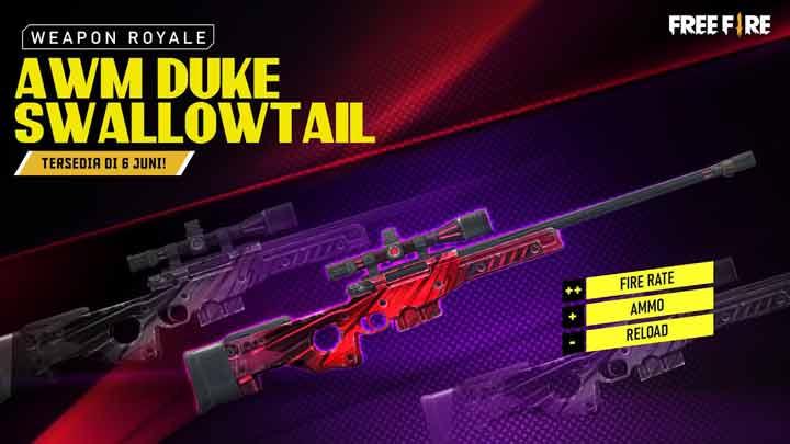 Skin Sniper AWM Duke Swallowtail