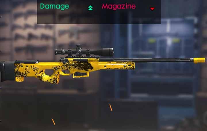 Skin Sniper AWM Cheetah