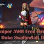 3 Skin Sniper AWM Free Fire Terbaik, Duke Swallowtail The Best