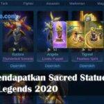 Cara Mendapatkan Sacred Statue Gratis Mobile Legends 2020