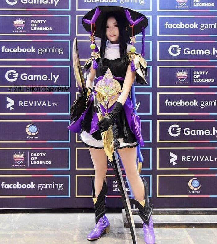 cosplay mobile legends fanny