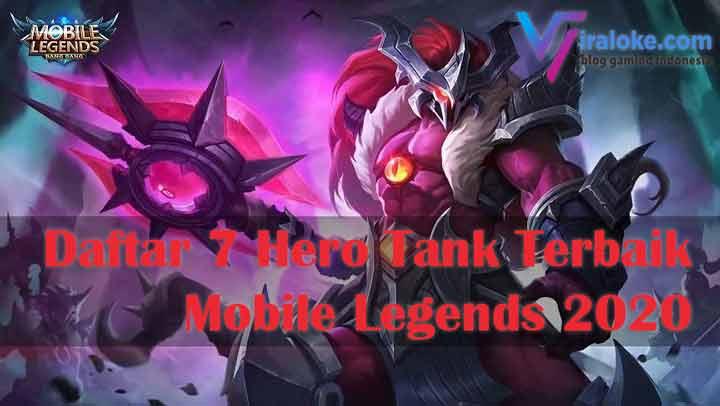 Daftar 7 Hero Tank Terbaik Mobile Legends 2020
