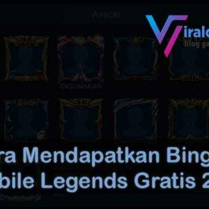 Cara Mendapatkan Bingkai Mobile Legends Gratis 2020