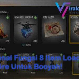 8 Item Loadout Free Fire
