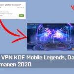 Trik Bug VPN KOF Mobile Legends, Dapat Skin Epic Permanen