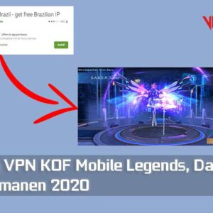 Trik Bug VPN KOF Mobile Legends, Dapat Skin Epic Permanen