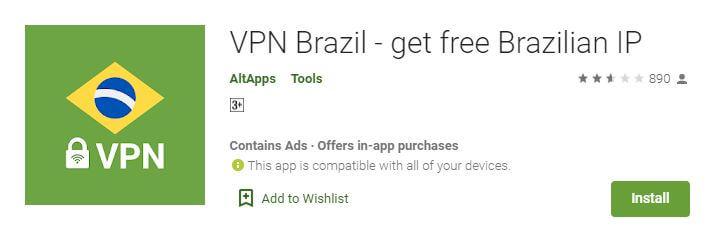 VPN Brazil