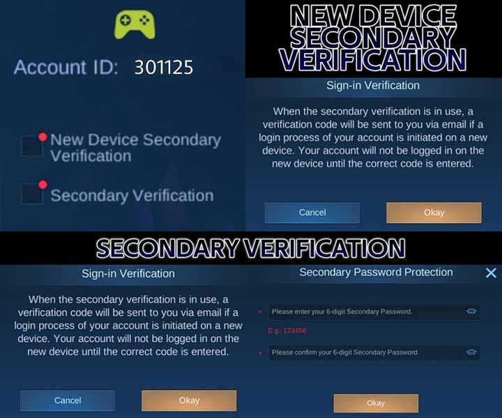 Verifikasi Kedua Untuk Perangkat Baru Mobile Legends