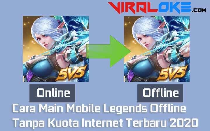 Cara Main Mobile Legends Offline
