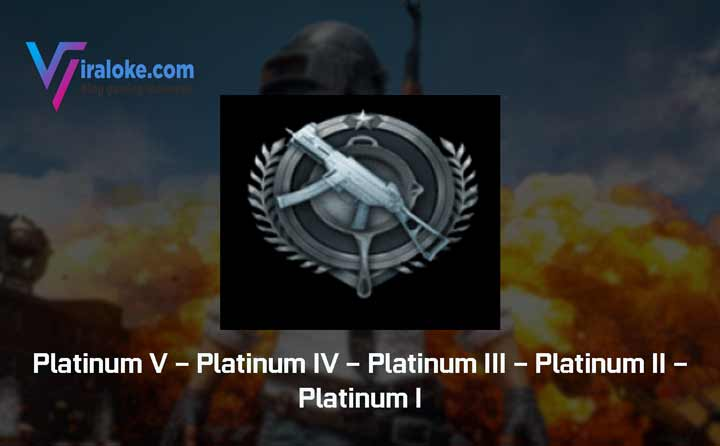 Pangkat Tier Rank Platinum Pubg Mobile