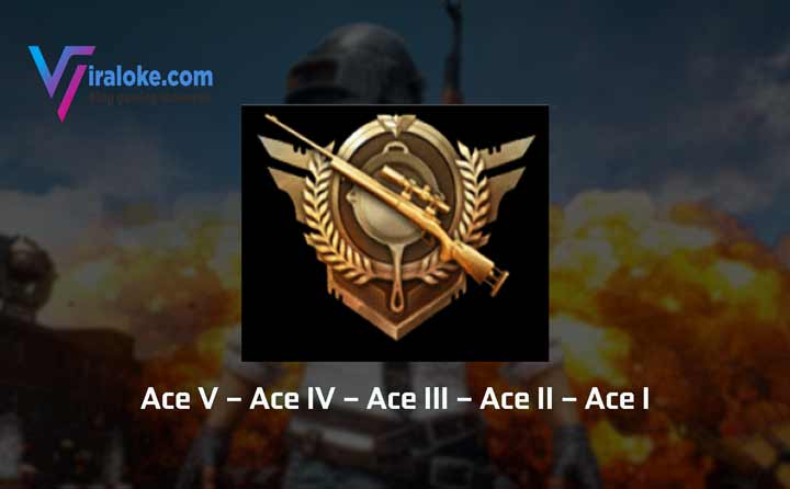 Pangkat Tier Rank Ace Pubg Mobile