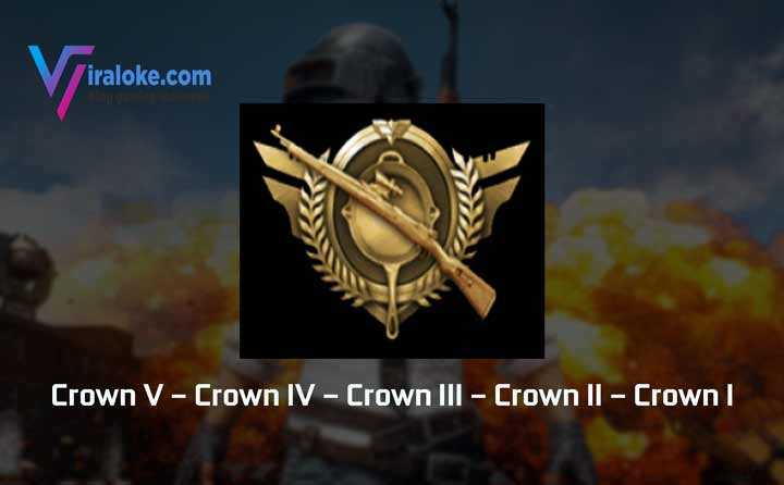 Pangkat Tier Rank Crown Pubg Mobile