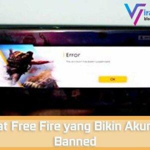 Cheat Free Fire yang Bikin Akun Kena Banned
