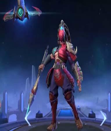Alpha - Crimson Warrior