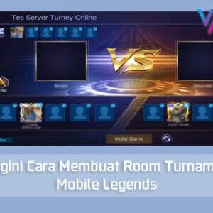 Cara Membuat Room Turnamen Mobile Legend