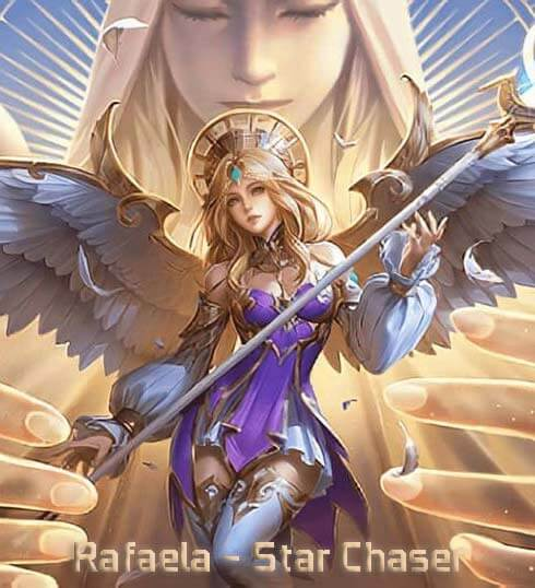 Skin Season 18 Rafaela Star Chaser Mobile Legends