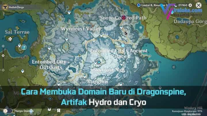 Cara Membuka Domain Baru di Dragonspine - Peak of Vindagnyr
