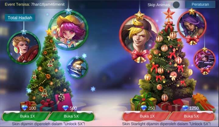 Event Christmas Raffle Mobile Legends