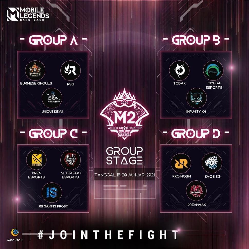 Inilah Jadwal M2 Mobile Legends 2021 1