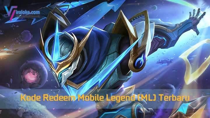 Kode Redeem ML Terbaru Mobile Legends