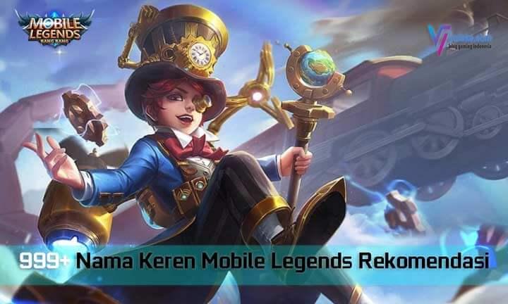 Nama Keren Mobile Legends Rekomendasi 2021