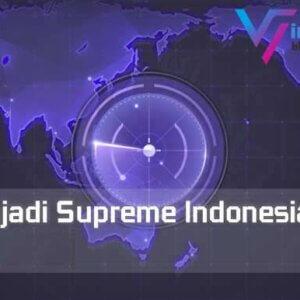 Cara Menjadi Supreme Indonesia Mobile Legends