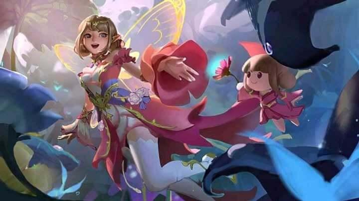 Angela – Floral Elf