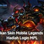Skin Mobile Legends Gratis Hadiah Login MPL