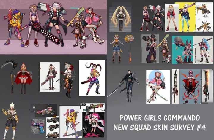 Power Girls Commando Squad