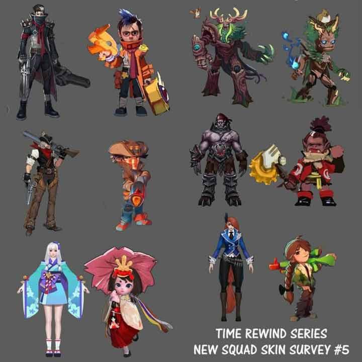 Time Rewind Squad Skin Squad Mobile Legends